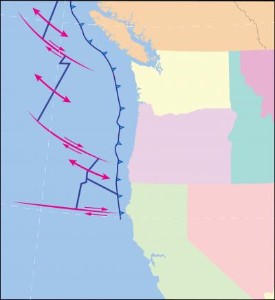 Mapping the Juan de Fuca Subduction Zone