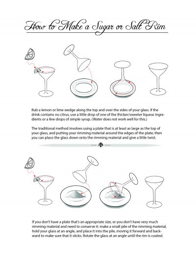 How to Make a Sugar or Salt Rim