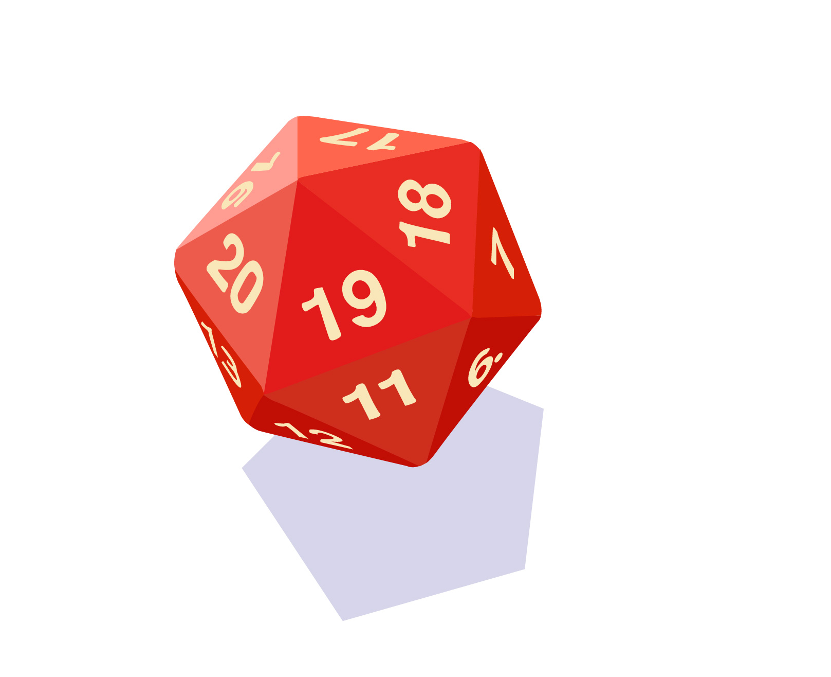 Twenty-Sided Die